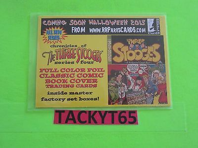 Chronicles Of The Three Stooges Series Four Promo Card 11