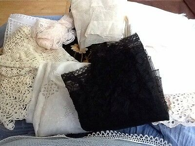 Mixed Lot Of Antique Items From Needlework Box
