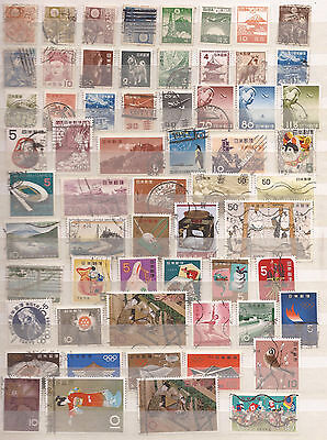 Japan -  Huge Lot Of 401  Stamps - See The 6 Images