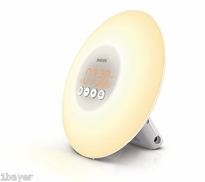 Philips Health Care Therapy Homeopathic Remedy Wake Up Light Office Desk Lamp