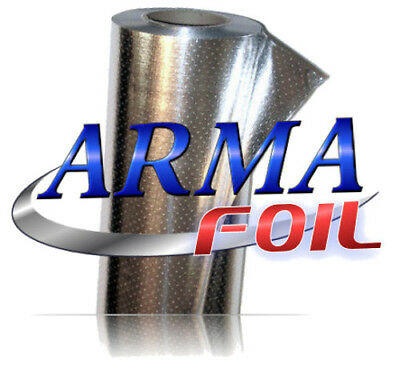 "ARMA FOIL Radiant Barrier Reflective Insulation, 25.5"" wide 500 sqft, Attic"