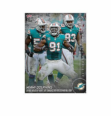 Topps Huddle NOW Miami Dolphins Week 13 DIGITAL CARD