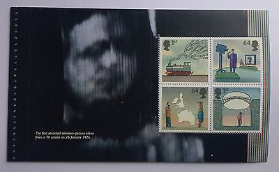 DX38, SG2721a World of Invention Prestige Booklet Pane 2 x 1st, 2 x 0.64p  nhm