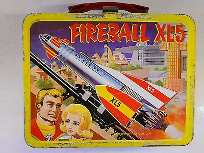 Vtg 1964 Fireball XL5 Lunchbox Really Cool Vintage Find!