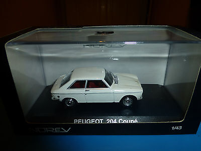 Peugeot 204 Coupe Norev 1/43