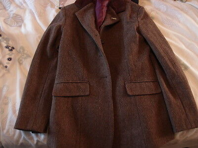 Girls Sherwood Forest tweed horse / pony riding show jacket size 30 Equestrian