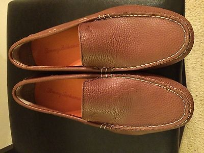 Tommy Bahama Pagota Mens Drivers Brown Size 9.5