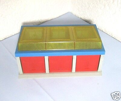Alte WADER Garage 70er Jahre 1:43 Made in Germany D.B.G.M Shell Conti TS