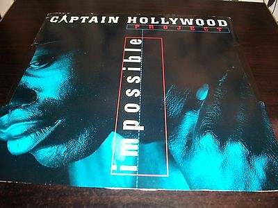 "12"" Vinyl Record/ Captain Hollywood Project - Impossible : Vg+"