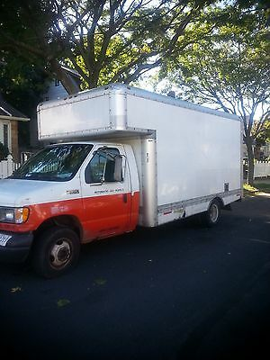 2000 FORD 17' 350 CARGO BOX TRUCK / Ready to go to work!