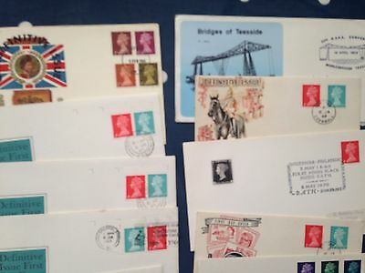 GB UK 37 FDC pre decimal covers First Day Covers incl many better stamp sets