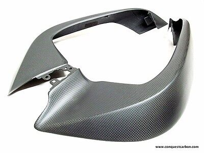 Ducati Multistrada 1200 DVT Carbon Fibre Air Intakes Satin