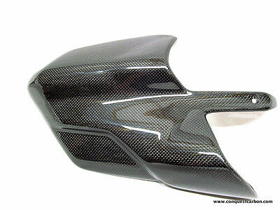 Ducati Multistrada 1200 DVT Carbon Fibre Exhaust Guard Gloss
