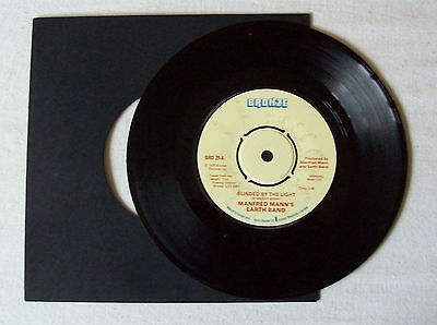 "Manfred Mann's Earth Band - Blinded By The Light - 7"" Vinyl"