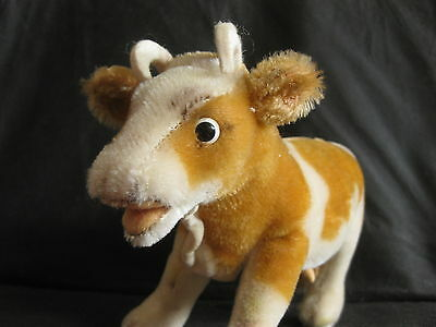 Vintage Steiff Germany Bessie the Cow  Mohair