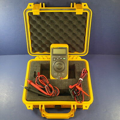 Fluke 707 Loop Calibrator, Excellent Condition, Waterproof Hard Case, More!