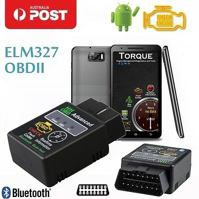 2016 HHOBD ELM327 Car OBD2 OBDII Bluetooth CAN Scanner for TORQUE ANDROID Auto