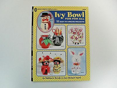 "Kids Craft Book ""Ivy Bowl Fun For All"" by Grace Publications 2002 NEW"
