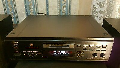 Separate Denon DMD-1000 Minidisk recorder and player