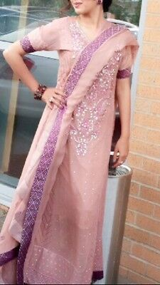 Pink Outfit - Indian Pakistani Wear S