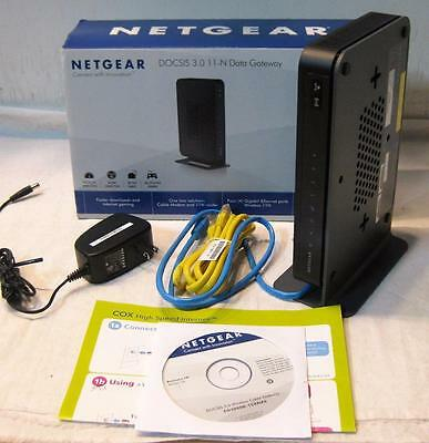 NETGEAR CG3000D Wireless-N Cable Modem+Router Docsis 3.0 for TWC COX & Charter