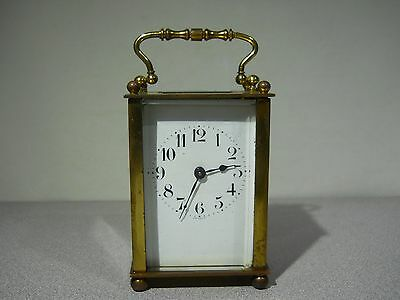 Vintage - DUVERDREY & BLOQUEL French Carriage Clock - RUNS WELL