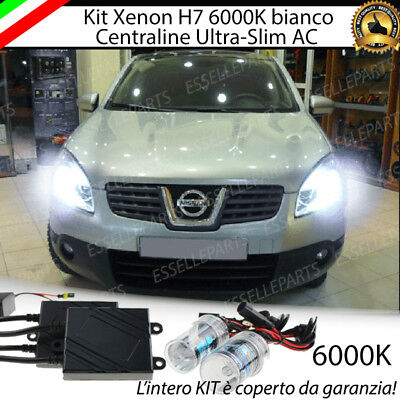 Kit Xenon Xeno H7 Ac 6000K 35W Specifico Nissan Qashqai J10 100% No Error