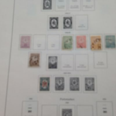 Bulgaria stamp collection on album pages, nice tidy lot on 18 pages