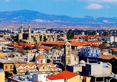 Cyprus Nicosia Dis. Postcard as picture * Combined Shipping available * CNDS6