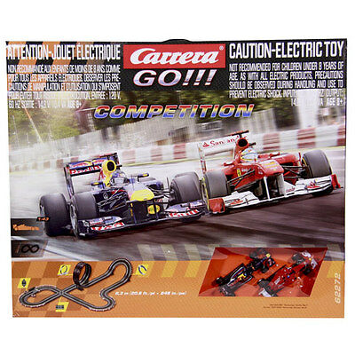 Carrera Go!!! Formula Competition Electric Motorsports Slot Car Race Set