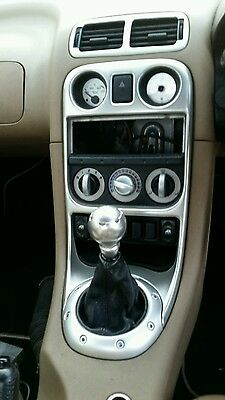 Mgf Mk2 / Mg Tf Anniversary / Se Silver Genuine Mg Centre Console And Air Vents