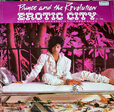 """Prince And The Revolution  – Let's Go Crazy    12"""""""