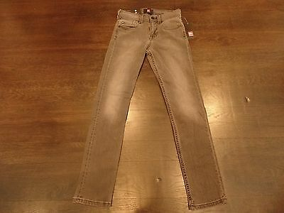 Authentic NWT Unisex Quicksilver Grey Jeans Pants Size US 23/Slim WOW!