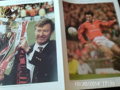 manchester united football picture ferguson & rayn giggs 1996