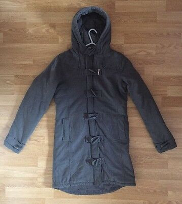 BENCH GIRLS GREY DUFFEL COAT - 15/16 Years UK
