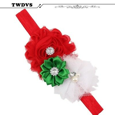 Baby Flower Headband Girl Hairband Hair prom evening Accessories clip