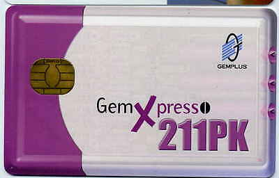 CARTE GEMXPRESSO 211PK GEM demo card TEST ESSAI SPECIMEN