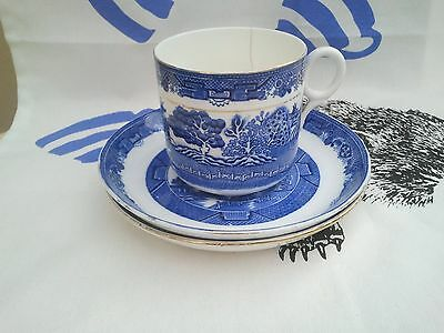 Grafton China Willow Pattern CUP & SAUCER
