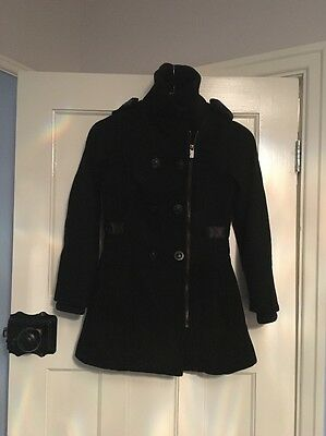 Girls Ted Baker Wool Coat Age 10