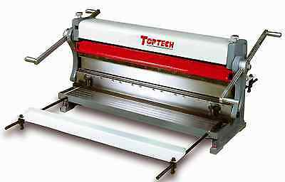 Toptech Sheet Metal Folder, Guillotine/shear, Roller Machine 3 In 1