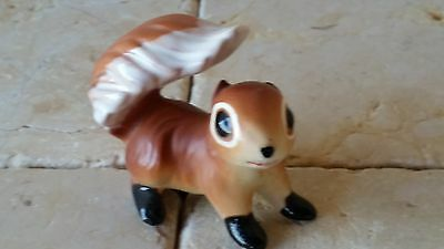 Vintage Kelvin Adorable Wide Eyed Squirrel Figurine - Collectible