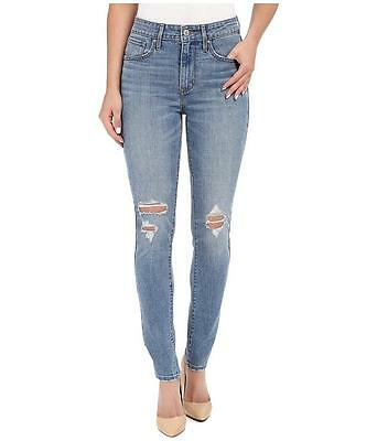 New Levi's 721 Women's High Rise Skinny Ripped Distressed Denim Jeans 188820049