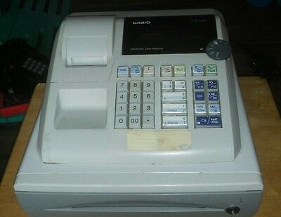 Casio PCR-262 Portable Electronic Cash Register with Cash Drawer Used