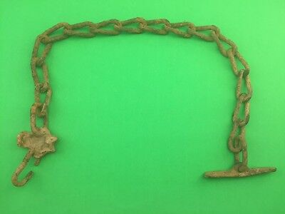 Steampunk Rustic Rusty Chain Vintage Broken Farm Decor
