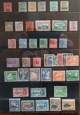 British Guiana Early To 1966 Nice Used Collection