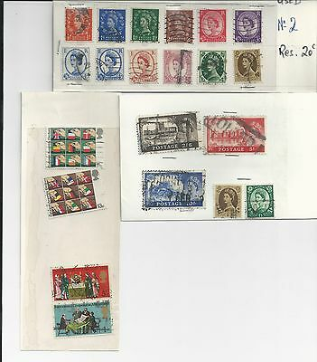Great Britain - Small Selection Of Used Stamps - Gb19