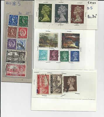 Great Britain - Small Selection Of Used Stamps - Gb18