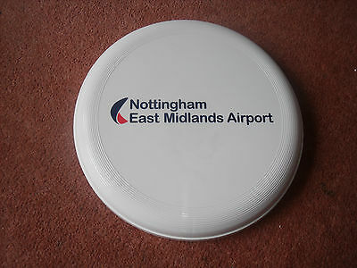 Nottingham East Midlands Airport Frisbee - New And Unused -