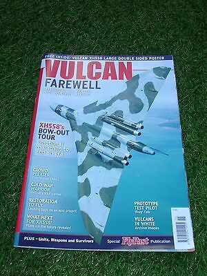VULCAN Farewell - Flypast Special Magazine - VULCAN XH558 Double Sided Poster.