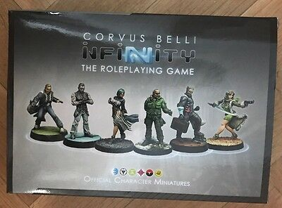 Corvus Belli Infinity Roleplaying Game Set Limited Miniatures